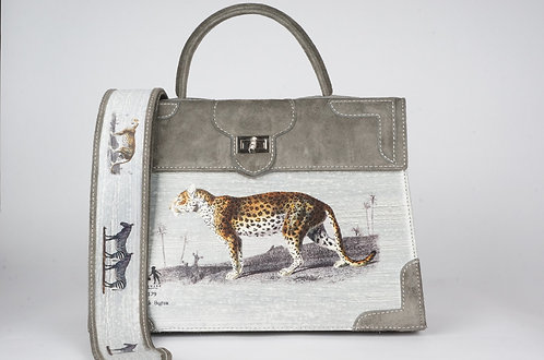 Médicis daim gris panthère  tigre 8384