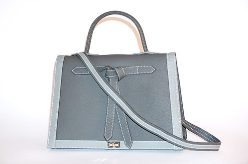 Marquise  gris anthracite & gris clair        5884