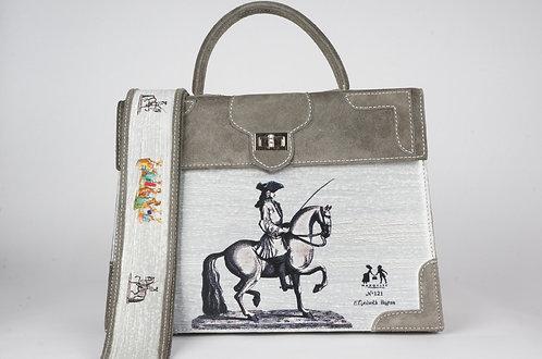 Marquise daim gris cavalier 8372