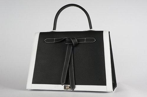 Marquise cuir black & white 6630
