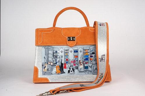 Marquise daim mandarine Boudoir 8765
