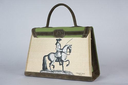 daim vert perroquet & bronze cavalier   6989