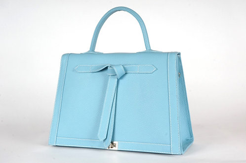 Marquise cuir turquoise 6992