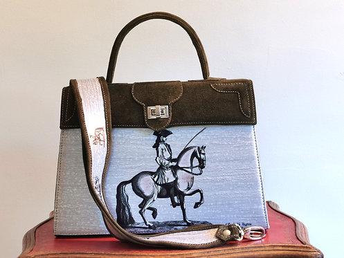 Marquise daim taupe bronze   cavalier  10008