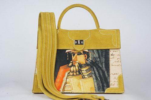 Marquise daim jaune tournesol Arcimboldo & Lettre 9093