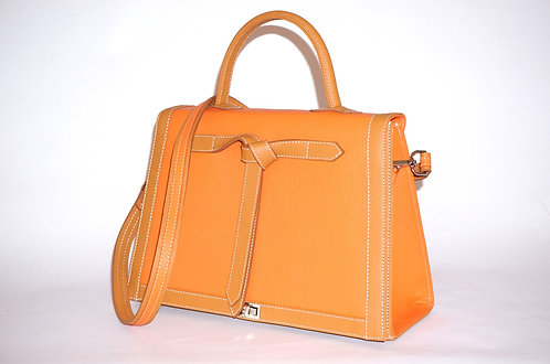 Marquise cuir orange & gold           5416