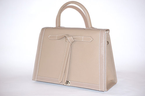 Marquise cuir taupe  5471