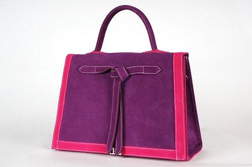 Marquise  daim violet & fushia       6968