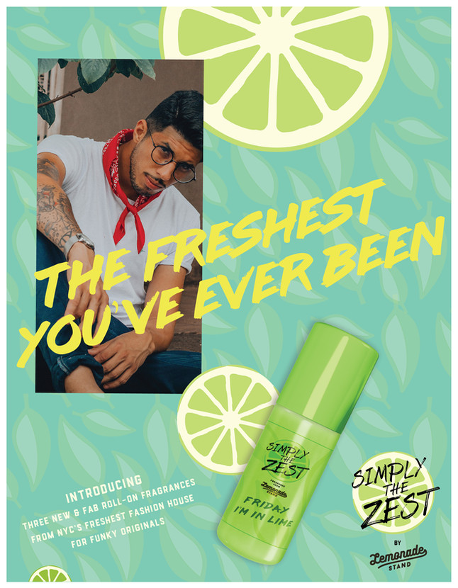 Friday I'm in Lime