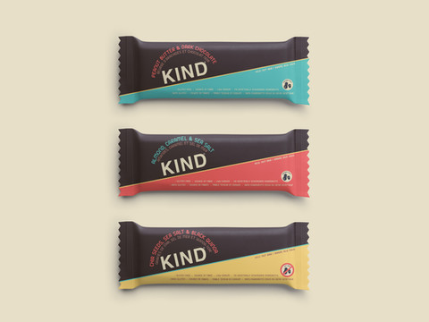 KIND Bar Package Redesign