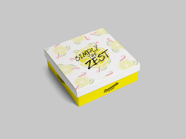 Simply the Zest: Packaging