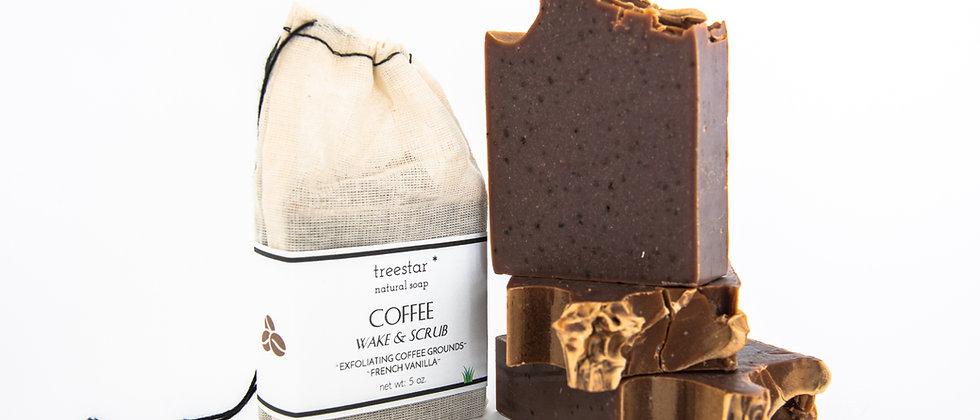 Coffee Soap - Scrub Bar
