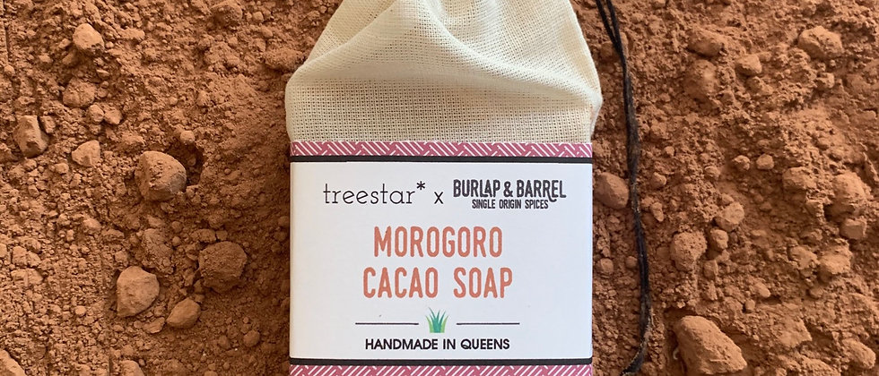 Morogoro Cacao Soap- collab w/Burlap & Barrel