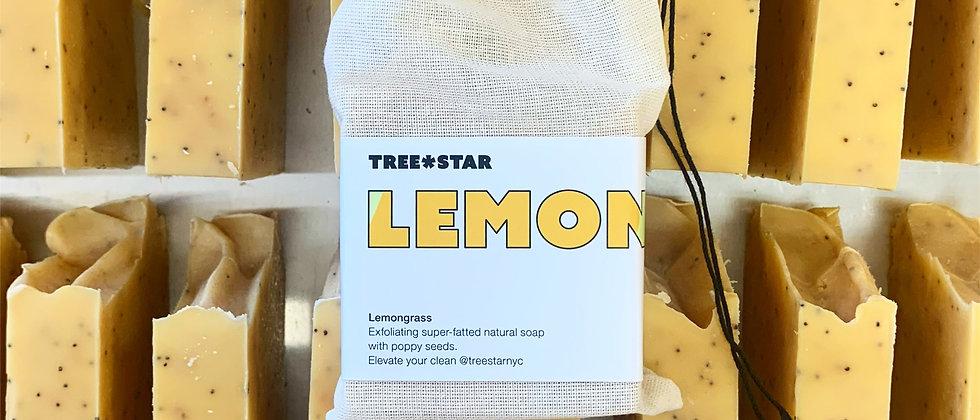 Lemongrass + Poppy Seeds - Exfoliating Soap