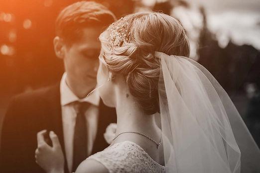 mariés élegants