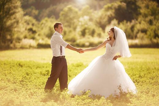séance photo pour les mariés à Vannes