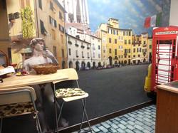 Italian Cafe fridge