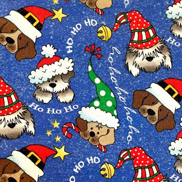 Xmas Dogs Ho Ho Ho