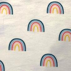 Rainbow in White