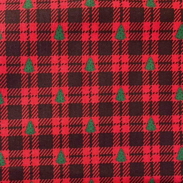 Xmas Checkered Trees