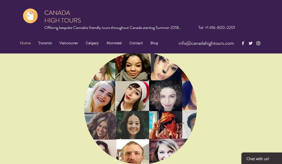 Canada High Tours proud to showcase some of our 2nd intake of Cannabis friendly Tour Guides..