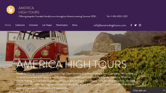 Canada High Tours giving sneek preview into our sister site www.americahightours.com  Look out USA..