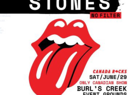 ROLLING STONES CONCERT AT BURL'S CREEK IS BACK ON!!