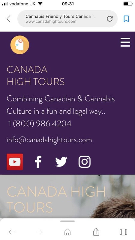 Canada High Tours make it even easier to contact us..