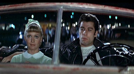 Have your own Danny & Sandy moment at the Drive in!