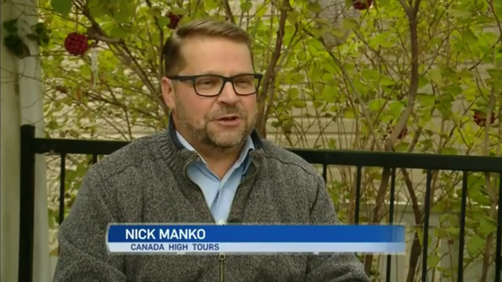 CTV interview with our co-founder Nic