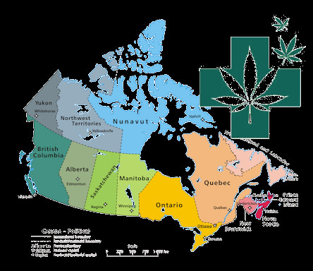 Here's How Cannabis Legalization Differs From Province To Province In Canada..https://www.narcit