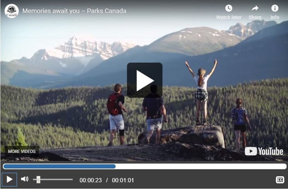 Cannabis use at Parks Canada