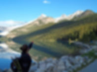 Canada High Tours lake Louise toke and tea room hike.JPG