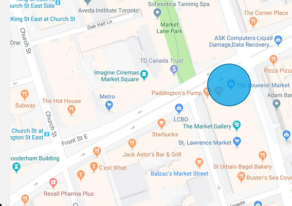 Downtown food tour meet up point.PNG