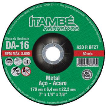 Disco de Desbaste DA - 16