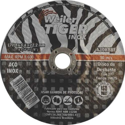 Disco de Desbaste Tiger Inox