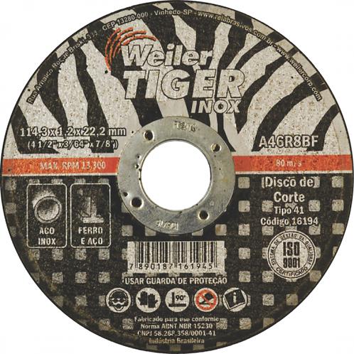 Disco de Corte Tiger Inox