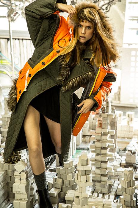 N BCTION. Photographer: Tao Ma Model: Ca