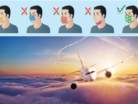 Risk of COVID-19 exposure on planes 'virtually nonexistent' when masked