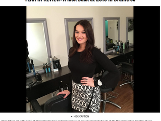 Olivia's Hair Boutique Featured as Top Headline of 2016