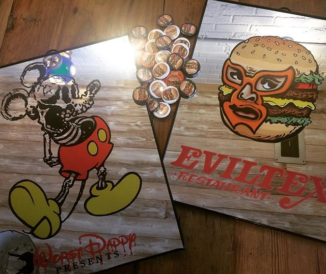 New item❗️_thank you so much😁__#eviltex  #hamburger  #texmex  #takayama #飛騨高山 #worstdaddy  #42