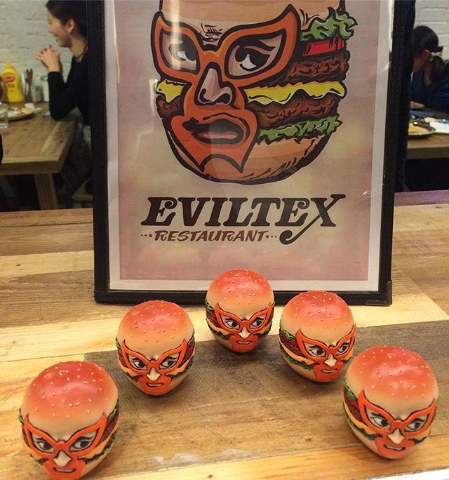 Sパイセンによる、sculptureが完成いたしました‼︎_qualityも凄く良いので、ビックリ‼︎_有難う御座いました!_#EVILTEX #restaurant #texmex  #hambur