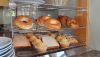 Bagels, bread, muffins