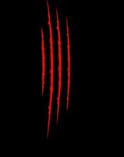 84047604-deux-griffes-rouges-sanglantes-