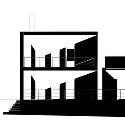 vista frontale di progetto