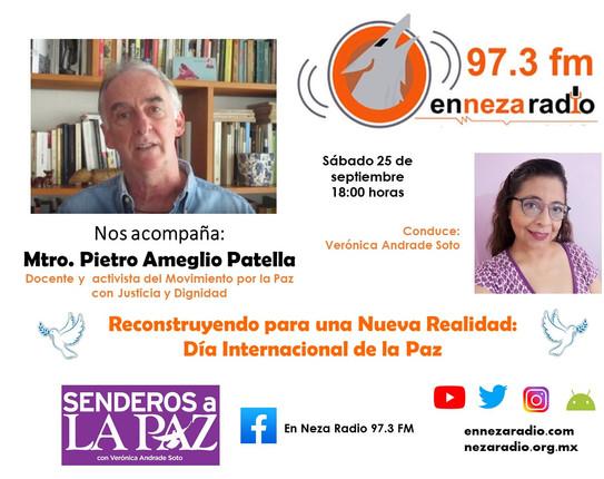 """Conversatorio: """"Reconstruyendo para una Nueva Realidad : Día Internacional de la Paz""""."""