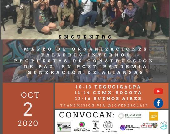 Mapeo Latinoamericano dentro de las Jornadas por la Construcción de Paz y Noviolencia