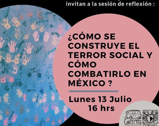 ¿Cómo se construye el terror social y cómo combatirlo en México?