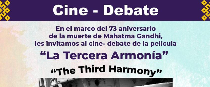 """Cine-Debate """"La Tercera Armonía"""""""