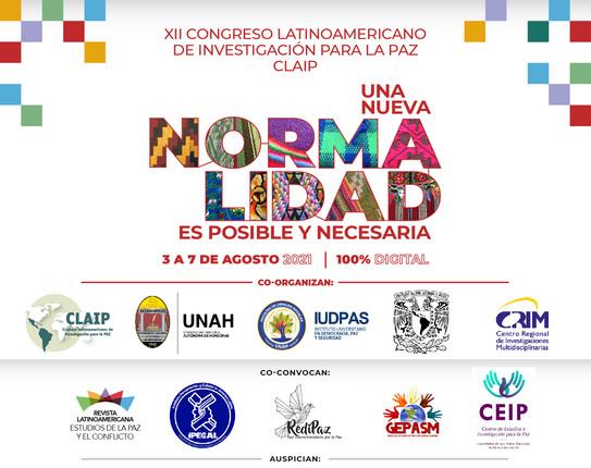 Convocatoria al XII Congreso Latinoamericano de Investigación para La Paz